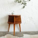 Chevet bois vintage – Tripode – F285