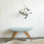 Table basse vintage – compas – E726