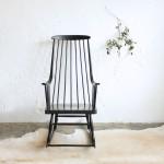 Rocking-chair scandinave '60