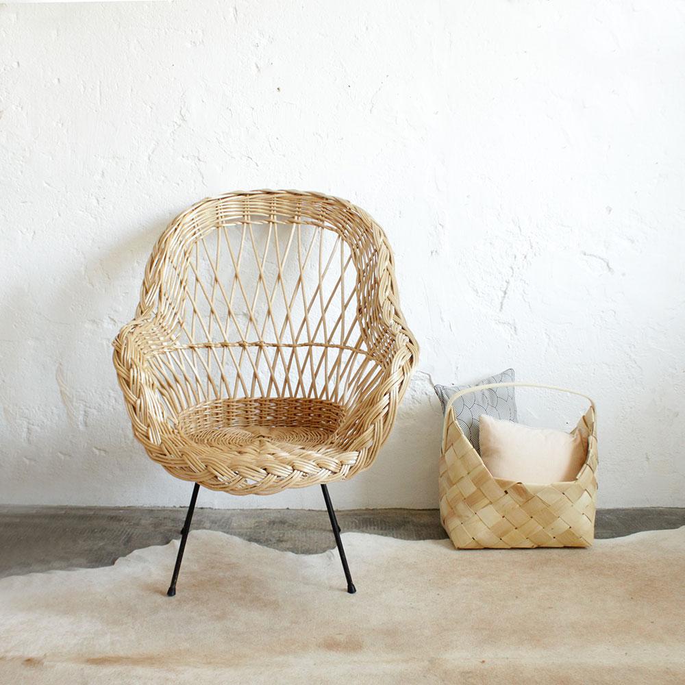 Maison DRUCKER - Crateur de mobilier en rotin (chaises de)