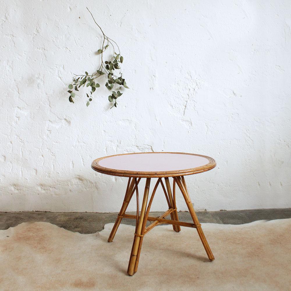 table basse vintage rose. Black Bedroom Furniture Sets. Home Design Ideas